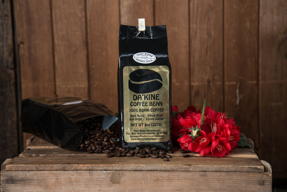 100% Kona Coffee, Whole Bean Medium Roast