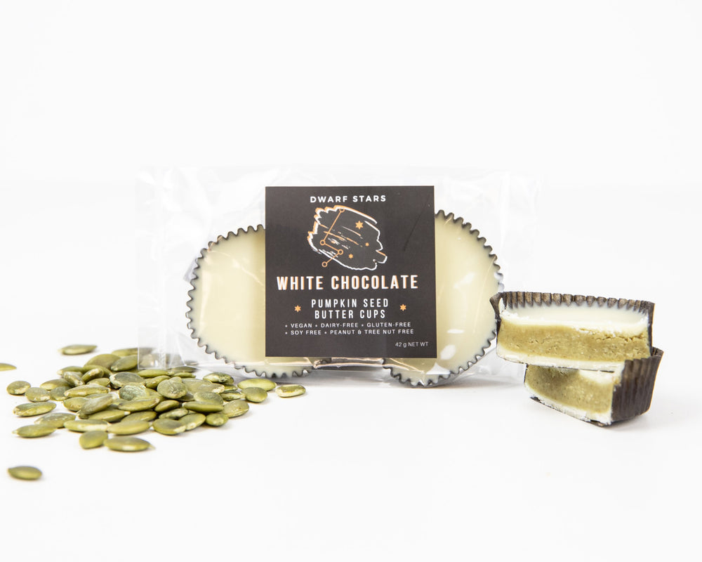 White Chocolate Pumpkin Seed Butter Cups (42 g)