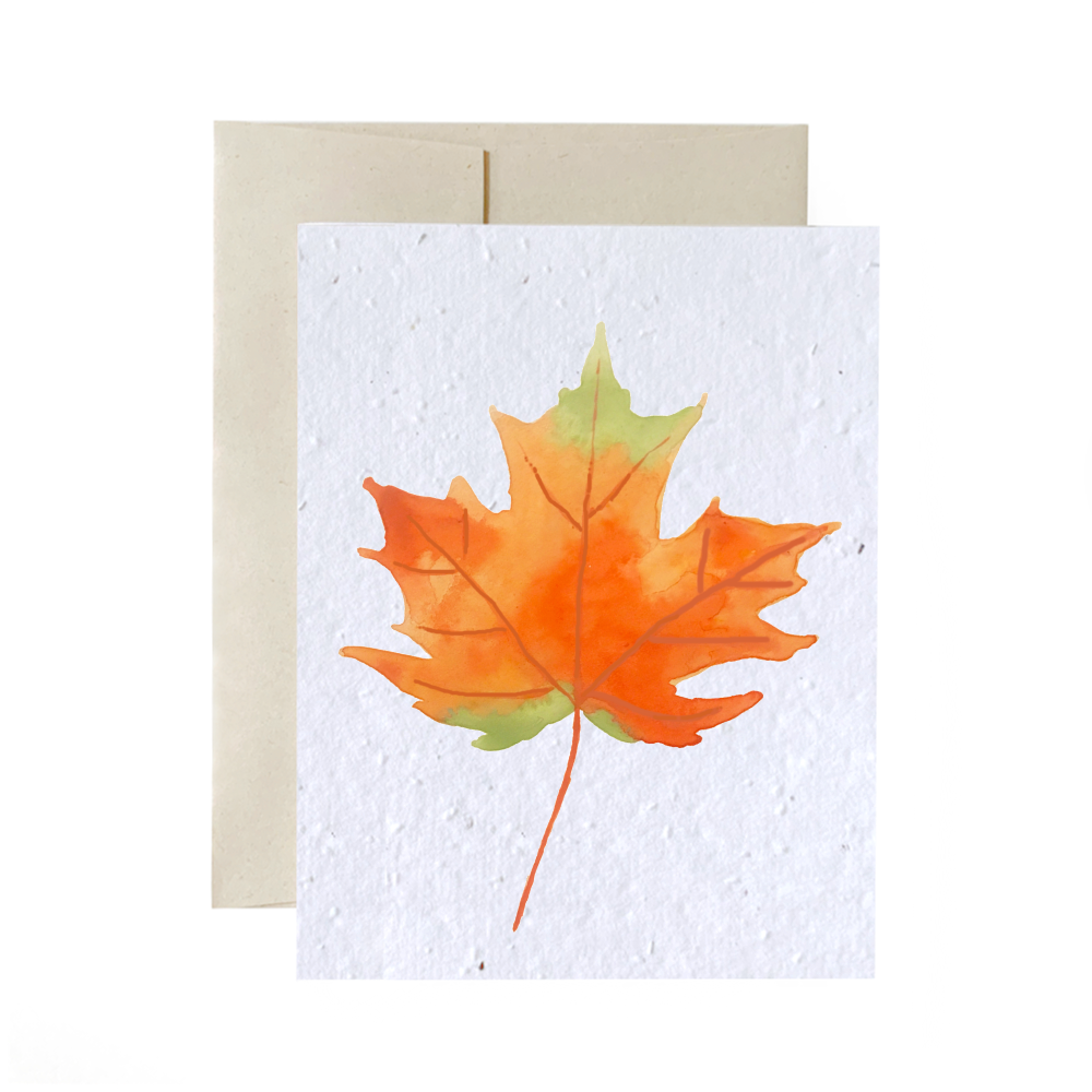 Load image into Gallery viewer, Maple Leaf | Card