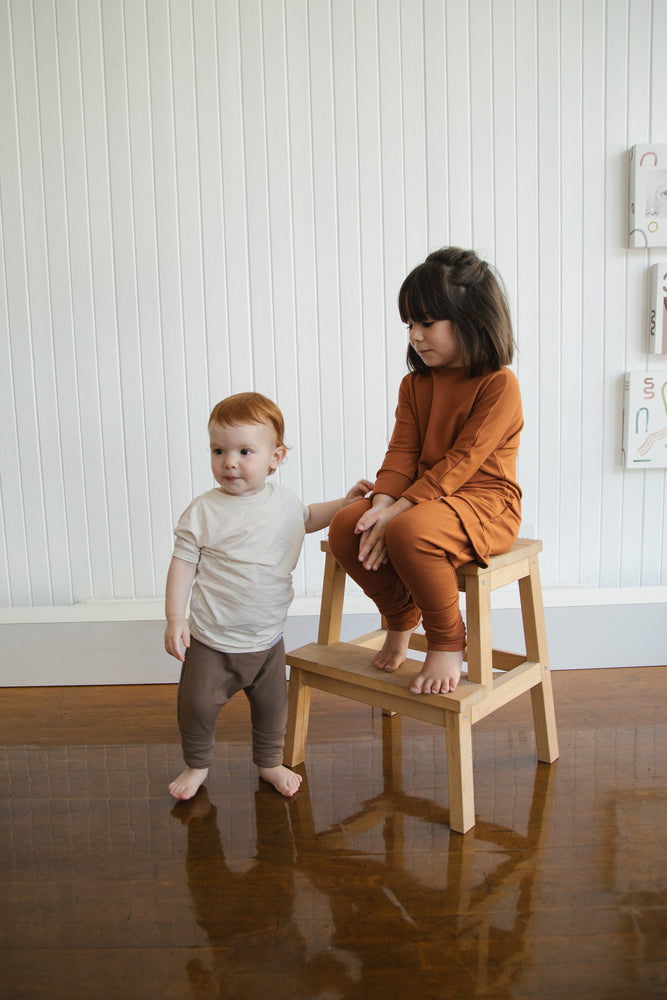 Load image into Gallery viewer, Grow With Me Sweater | Rust *French Terry