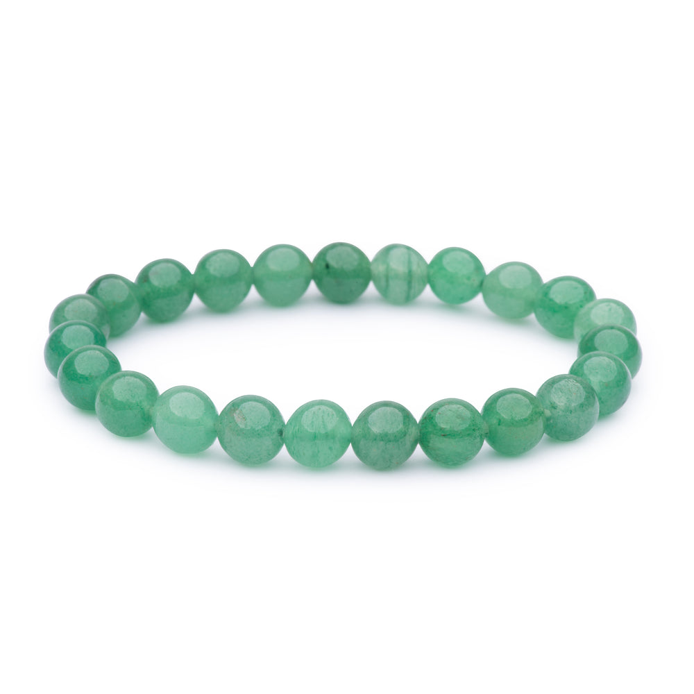 Power bracelet (8mm) - Green Aventurine