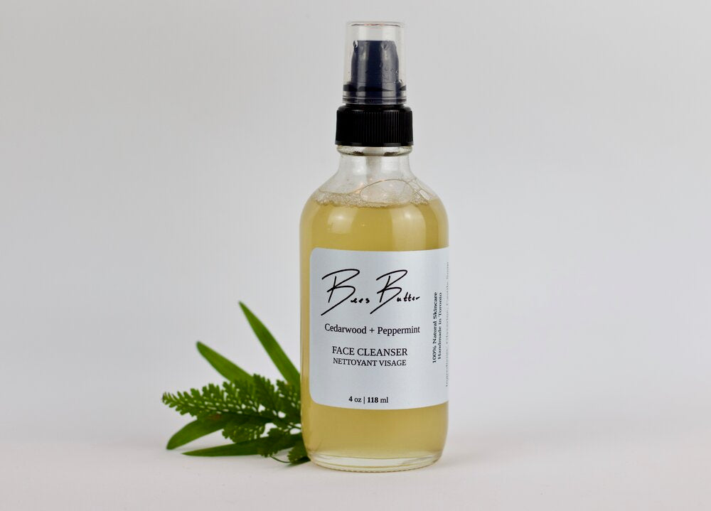 Load image into Gallery viewer, Cedarwood + Peppermint Face Cleanser