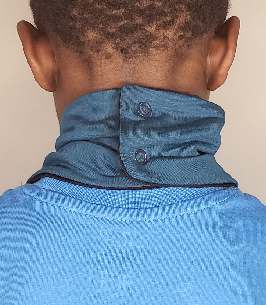Load image into Gallery viewer, Kids Reversible Bamboo Neck Gaiter