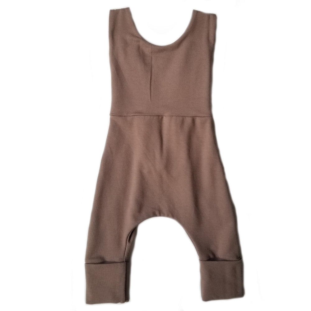 Grow With Me Overalls | Espresso *French Terry