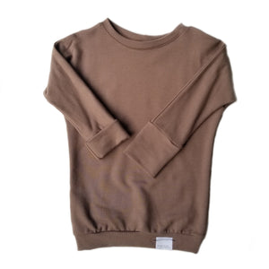 Load image into Gallery viewer, Grow With Me Sweater | Espresso *French Terry