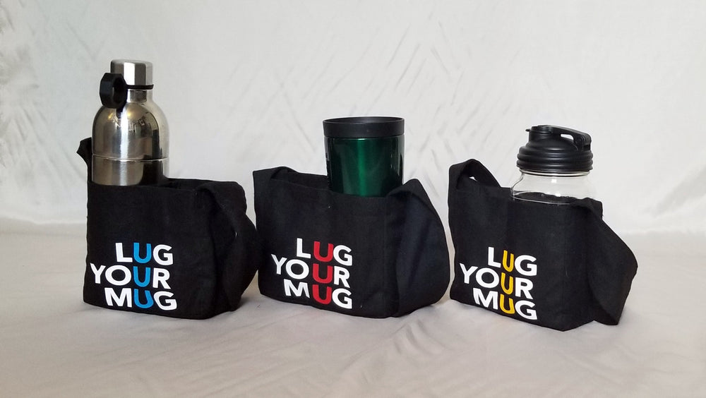 Lug Your Mug - beverage carrier