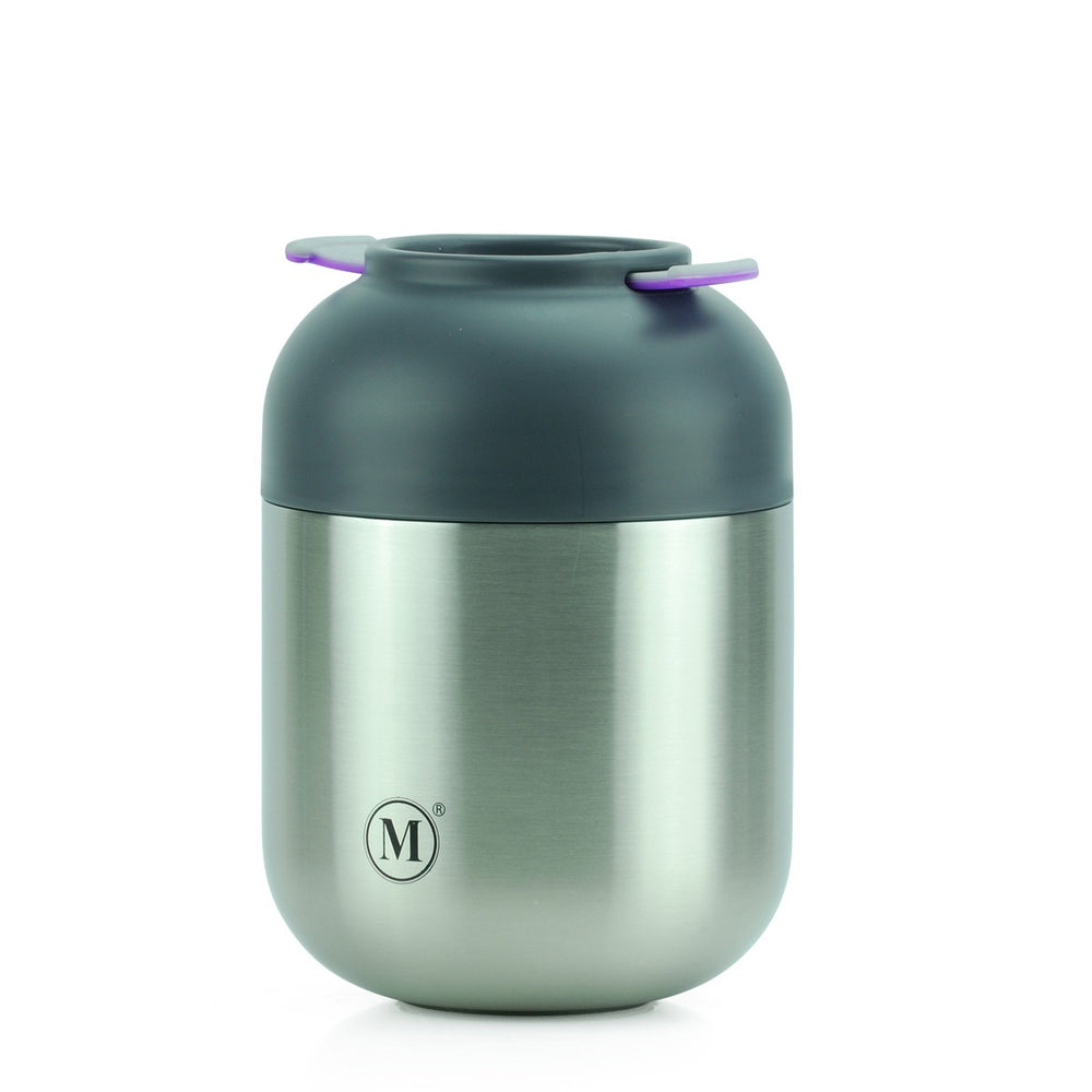 Minimal Insulated Food Jar V2, 24oz, Classic