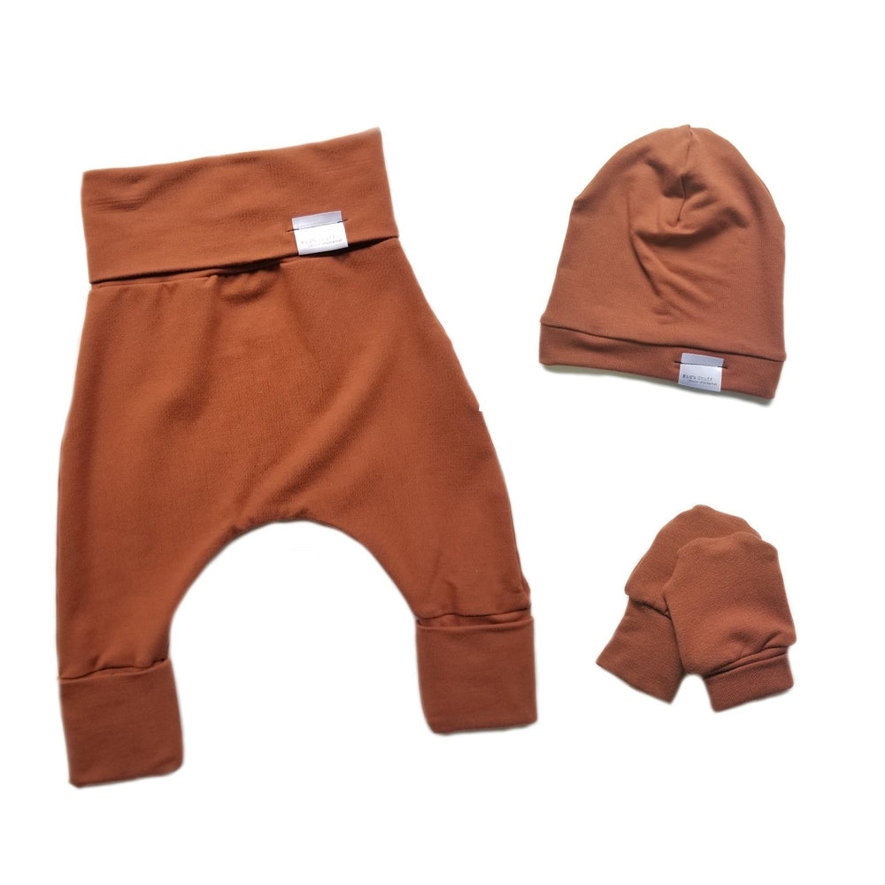 Newborn Set | Rust *French Terry