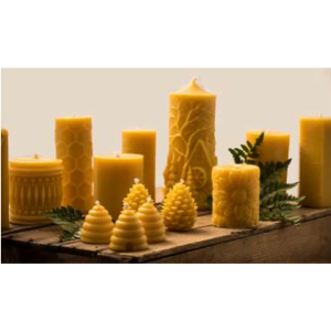 Load image into Gallery viewer, Pure Bees Wax Candles