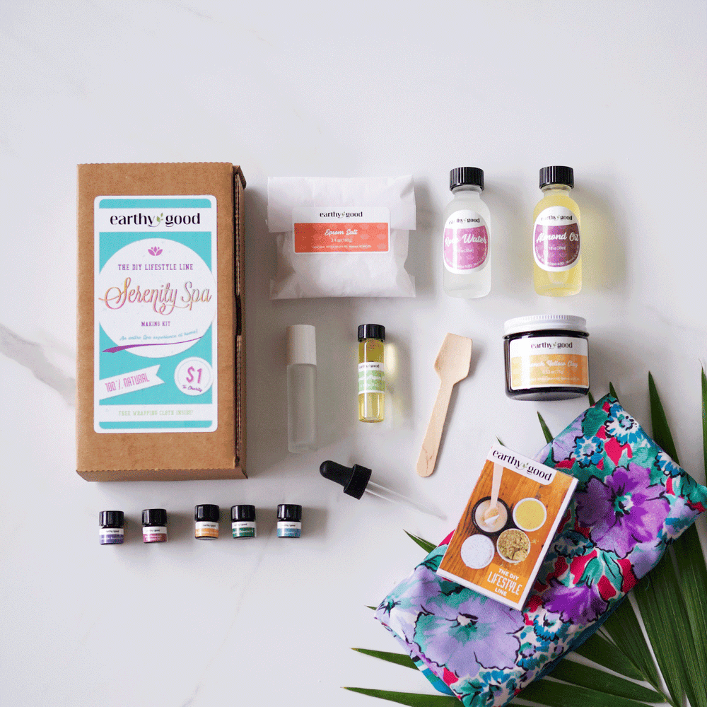 DIY Serenity Spa Kit