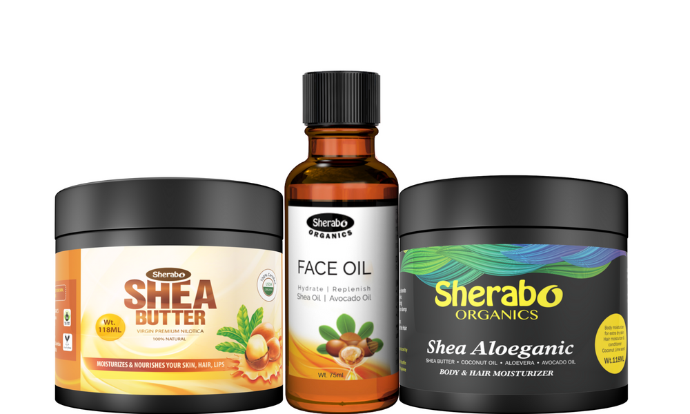 Load image into Gallery viewer, Combos- Face Oil | Pure Grace | Nilotica Shea | Shea Aloeganic