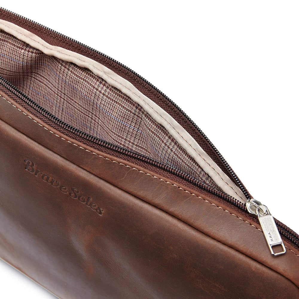 Load image into Gallery viewer, The Simpatico Leather Laptop Case