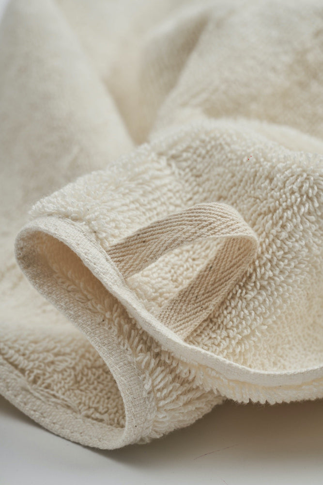Organic and Fairtrade Cotton Bath Towel Set in Natural