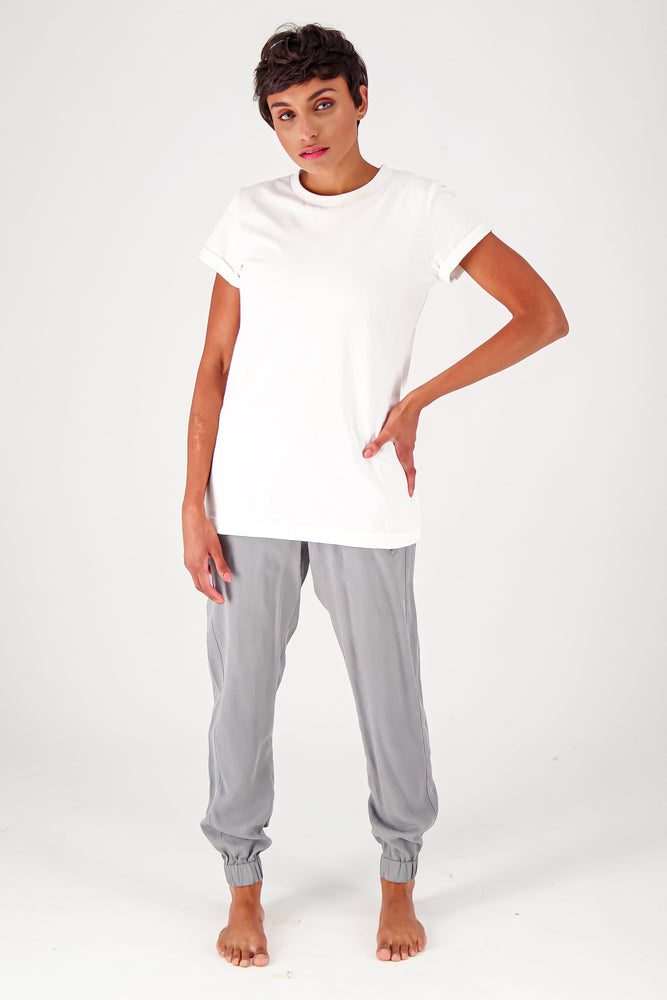 Load image into Gallery viewer, The Slim Fit Short Sleeve Organic Crewneck