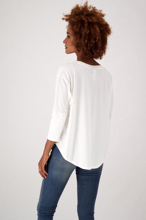 Load image into Gallery viewer, The Favorite Relaxed Fit Eco-Batwing Tee