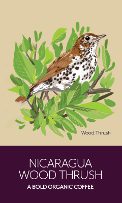 Load image into Gallery viewer, Nicaragua Wood Thrush - 12 oz (340g) Whole Bean