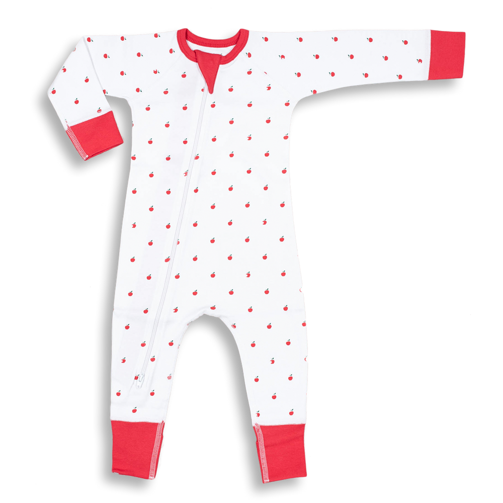 Apple Zip Romper