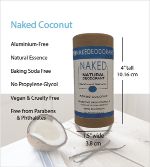 Load image into Gallery viewer, Naked Natural Deodorant - Coconut