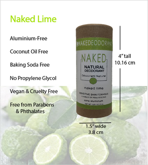 Load image into Gallery viewer, Naked Natural Deodorant - Lime
