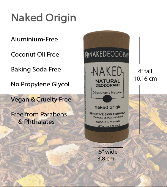 Load image into Gallery viewer, Naked Natural Deodorant - Origin
