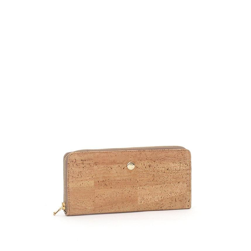Anelise Luxe Cork Wallet | Natural