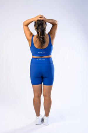 Load image into Gallery viewer, Dream Blue WORTHY Biker Shorts