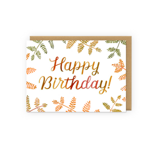 Load image into Gallery viewer, Autumn Birthday