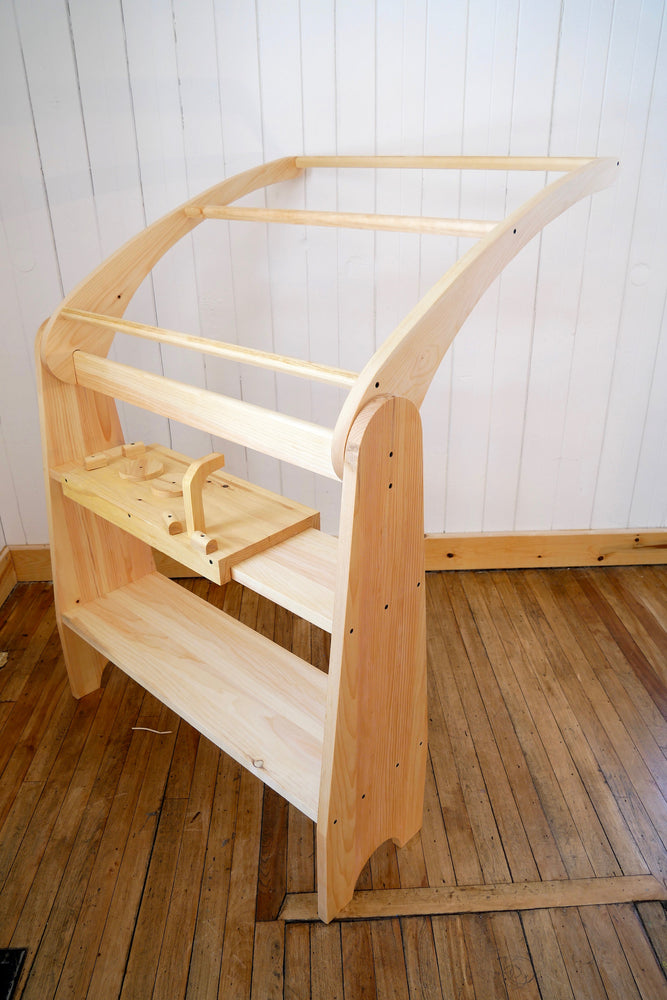 Load image into Gallery viewer, Waldorf Playstand- One Side only - / Playhouse / Wood Toy / House