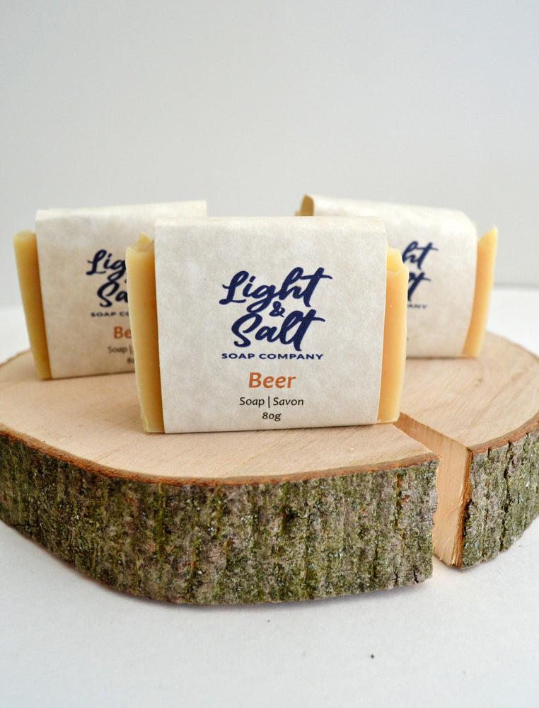 Load image into Gallery viewer, Beer and Honey Soap for Men, All Natural