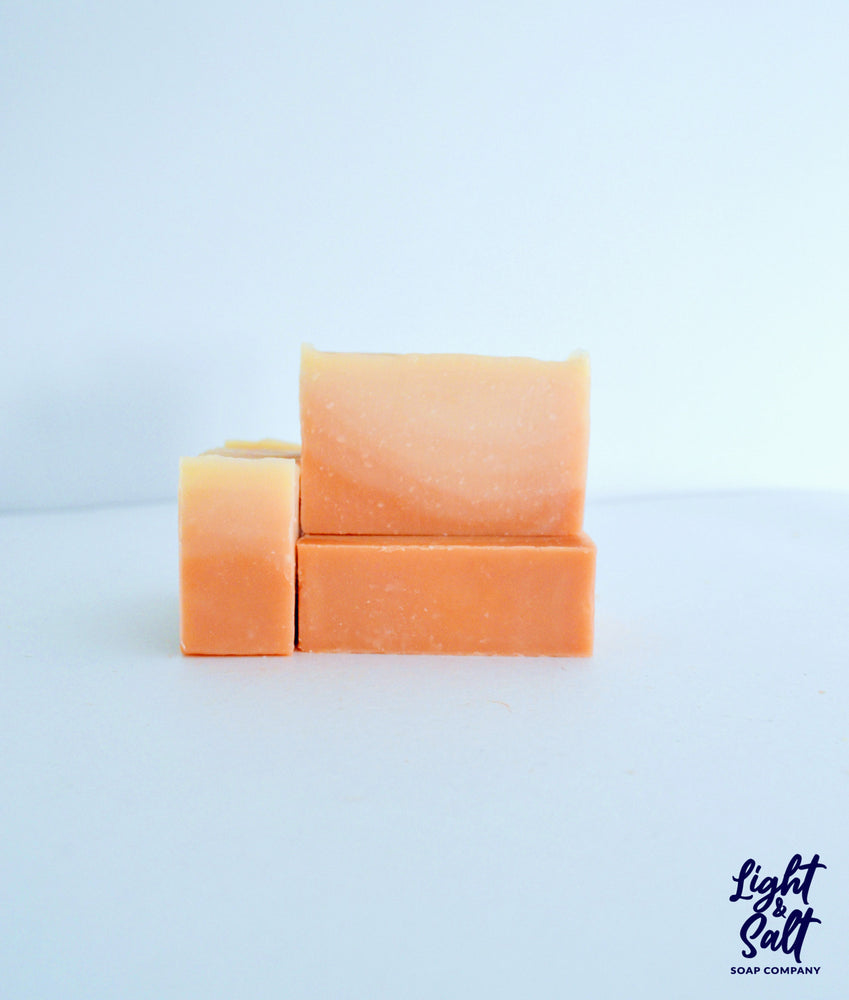 Load image into Gallery viewer, Pink Clay Ombré Essential Oil Bar Soap, for sensitive skin