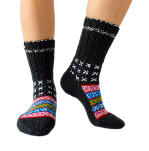 Load image into Gallery viewer, Pahari (Mountain People) Socks