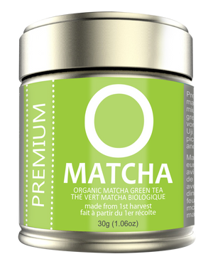 Load image into Gallery viewer, OMATCHA Organic Premium Matcha Green Tea 30g