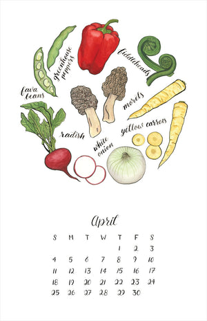 Load image into Gallery viewer, 2021 Seasonal Produce Calendar
