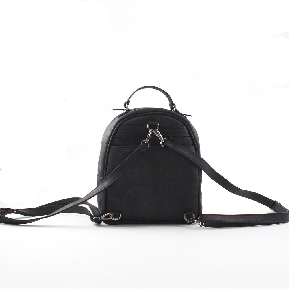 Load image into Gallery viewer, Taylor Small Cork Backpack | Black