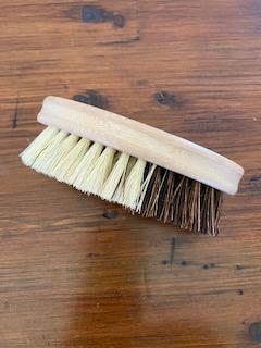 Vegetable Scrubber Natural Fiber Brush