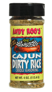 Andy Roo's Cajun Dirty Rice Creole Seasoning