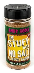 Andy Roo's Stuff With No Salt All Purpose Seasoning