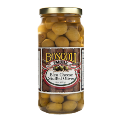 Boscoli's Bleu Cheese Stuffed Olives