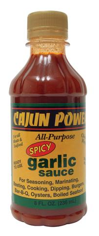 Cajun Power Spicy Garlic Sauce