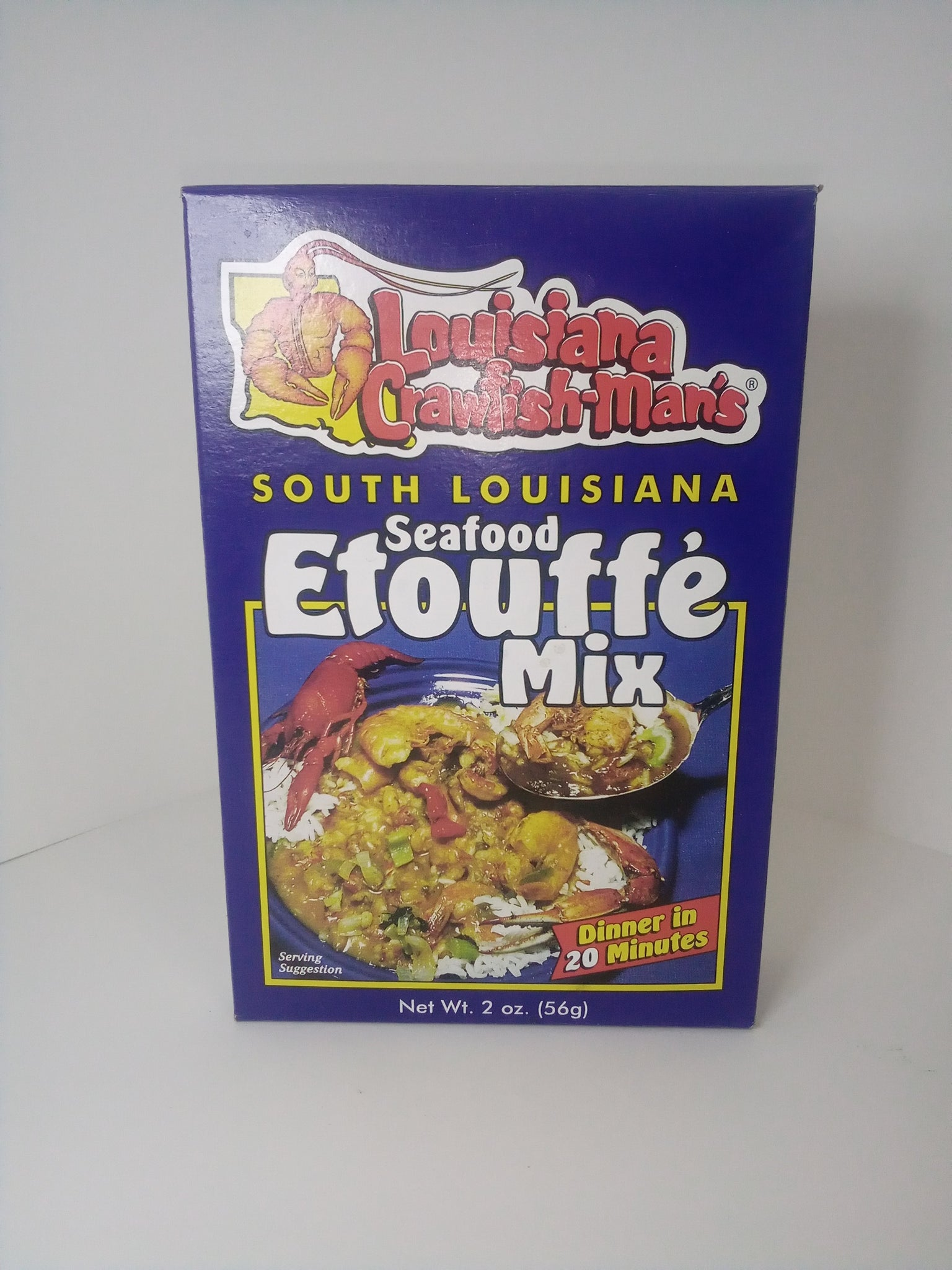Louisiana Crawfish-Man's Etouffe Mix