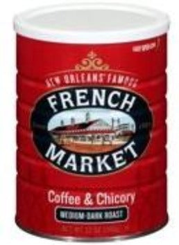 French Market Dark Roast Coffee & Chicory Creole Coffee