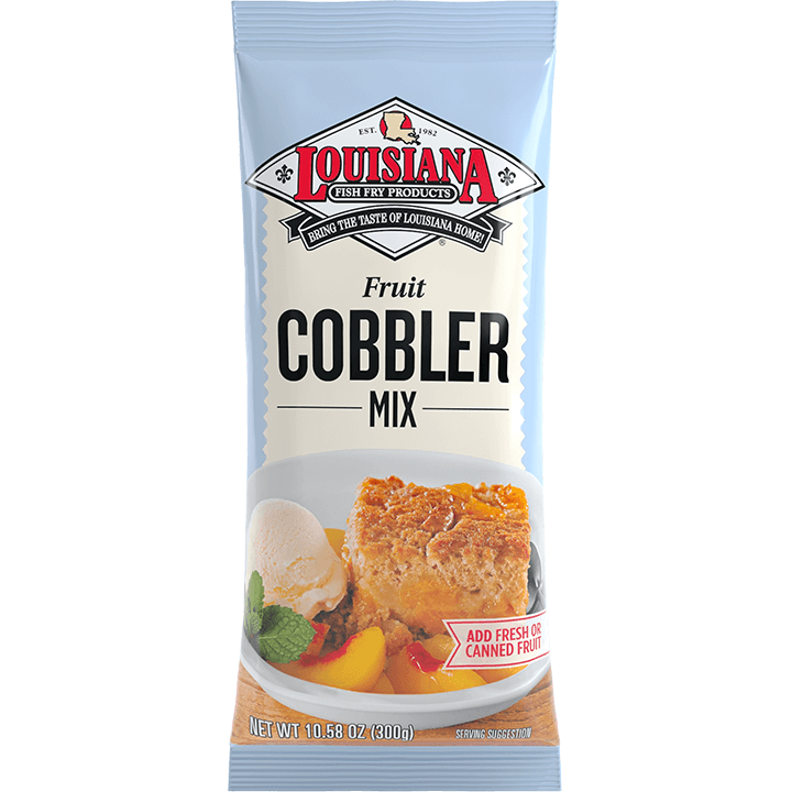 Louisiana Fish Fry Cobbler Mix