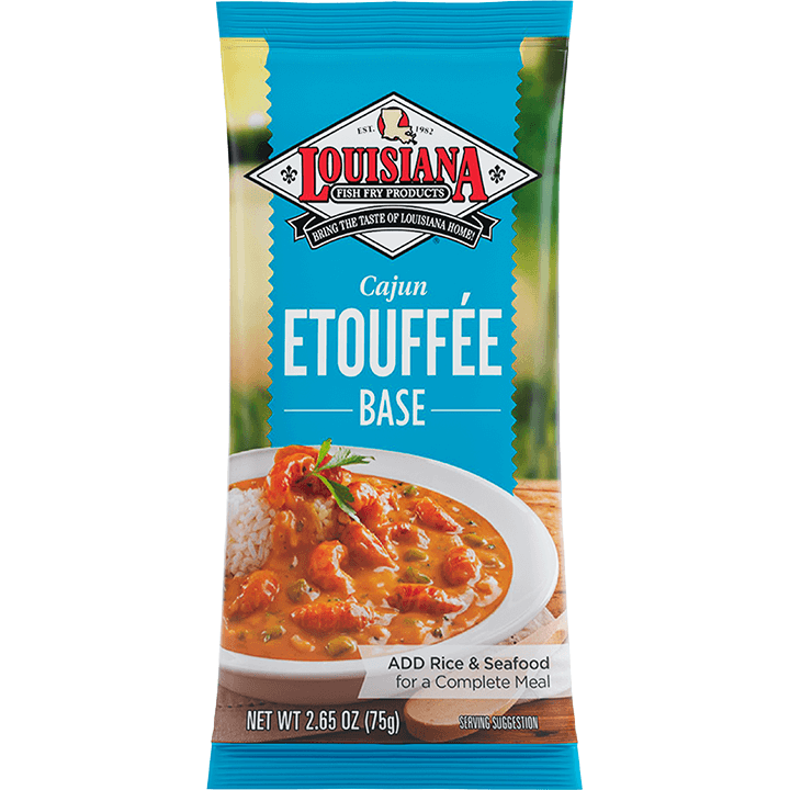 Louisiana Fish Fry Etouffee Base Entrée Mix