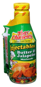 Tony Chachere's Butter & Jalapeno Injector Marinade