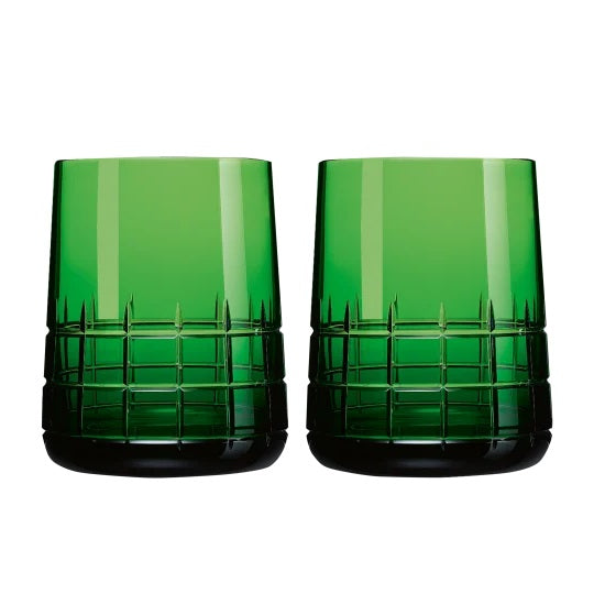 Graphik GREEN Goblets, Set of 2