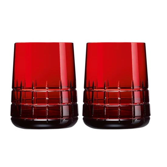 Graphik RED Goblets, Set of 2