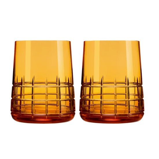 Graphik AMBER Goblets, Set of 2