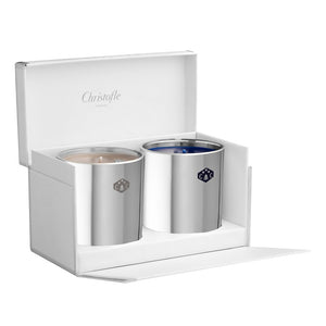 Gift Set of 2 Christofle Candles