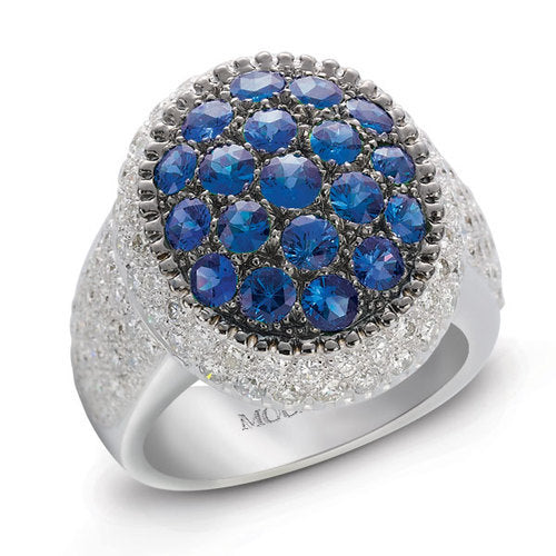 Rosette, Big Oval Ladies Ring