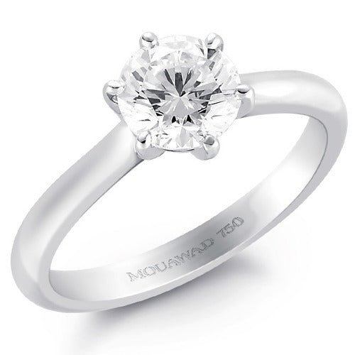 Mouawad Classique Engagement Ring